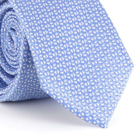Gravata-Slim-com-desenho-geometrico-small-em-poliester-violeta-com-branco