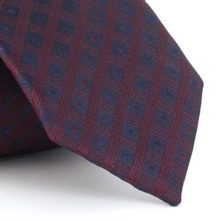 Gravata-em-poliester-texturizada-listras-e-detalhes-em-bordo-marinho-e-lilas