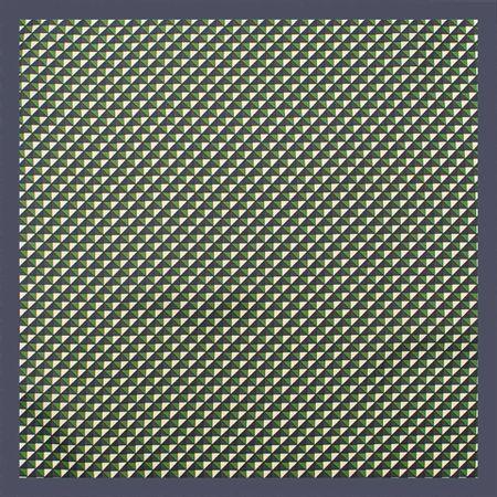 Lenco-de-bolso-com-desenho-geometrico-em-poliester-marinho-com-verde