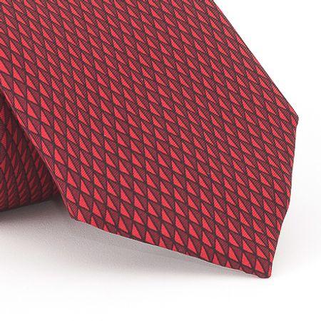 Gravata-estampada-em-triangular-vermelho-com-bordo