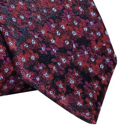 Gravata-Slim-em-poliester-floral-roxo-com-toques-vermelho1