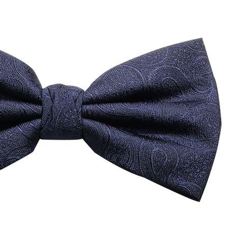 Gravata-borboleta-com-desenho-cashmere-em-poliester-azul-marinho