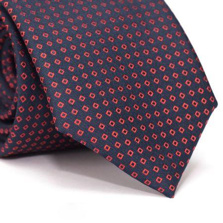 Gravata-Tradicional-em-Poliester-Azul-Marinho-com-Losangos-Vermelho-