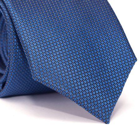 Gravata-Tradicional-em-Poliester-Azul-com-Desenho-Geometricos