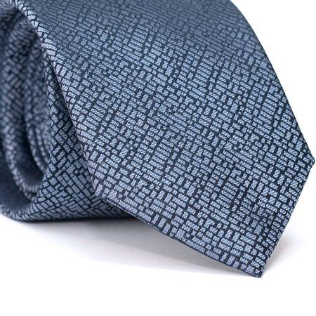 Gravata-Tradicional-em-Poliester-Azul-Marinho-com-Desenhos-Geometricos-em-Azul-