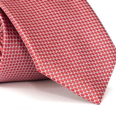 Gravata-Tradicional-em-Poliester-Vermelha-com-Detalhes-em-Branco