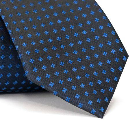Gravata-Tradicional-em-Poliester-Preta-com-Detalhes-em-Azul