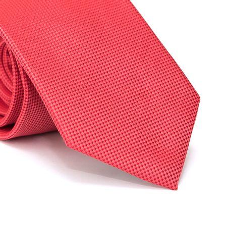 Gravata-Tradicional-em-Poliester-Vermelha-Falso-Liso