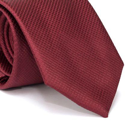 Gravata-Tradicional-em-Poliester-Falso-Liso-Vinho-com-Detalhes-Quadriculados