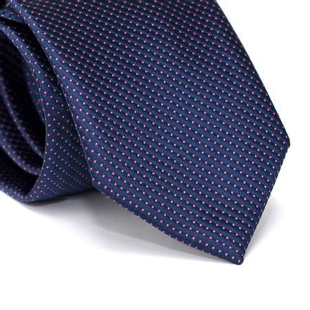 Gravata-Tradicional-em-Poliester-Falso-Liso-Roxa-com-Detalhes-Rosa