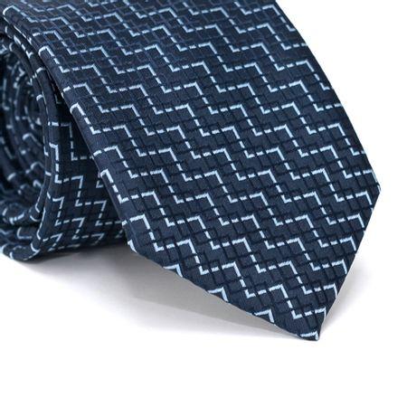 Gravata-Tradicional-em-Poliester-Azul-Marinho-com-Zig-Zag-em-Azul-Marinho-e-Azul