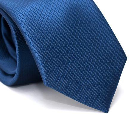 Gravata-Tradicional-em-Poliester-Falso-Liso-Azul-Prussia