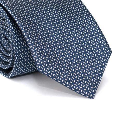 Gravata-Tradicional-em-Poliester-Azul-Marinho-com-Desenhos-Geometricos-em-Cinza