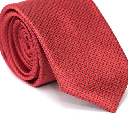 Gravata-Tradicional-em-Poliester-Vermelha-com-Detalhes-em-Azul