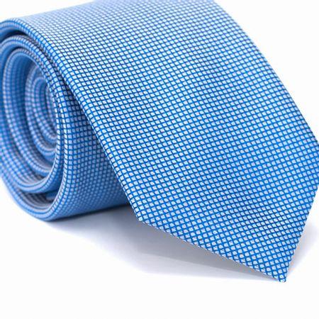 Gravata-Tradicional-em-Poliester-Azul-com-Quadriculados-Branco