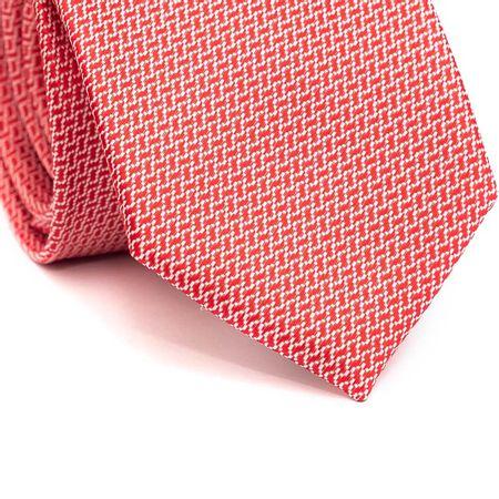 Gravata-Tradicional-em-Poliester-Vermelha-com-Zig-Zag-Branco