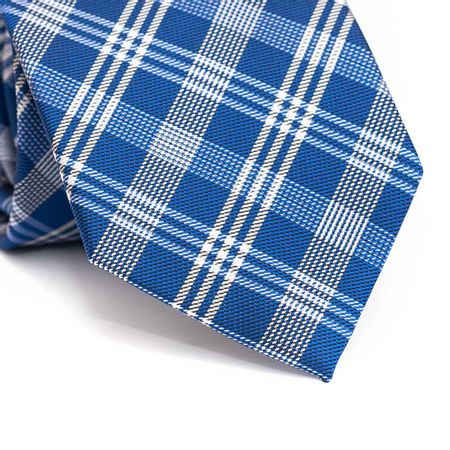 Gravata-tradicional-em-poliester-xadrez-azul-royal-e-branco