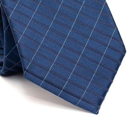 Gravata-tradicional-em-poliester-azul-marinho-com-listras-azul-e-detalhes-branco