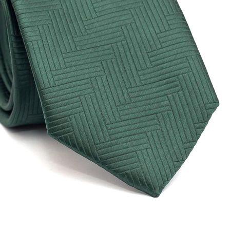 Gravata-tradicional-em-poliester-verde-com-detalhe-na-trama