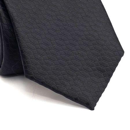 Gravata-tradicional-em-poliester-preta-com-desenho-geometrico