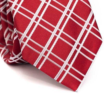 Gravata-tradicional-em-poliester-vermelha-com-listras-branca-e-cinza