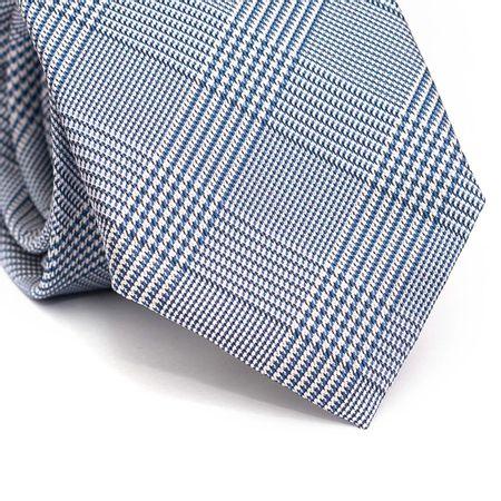 Gravata-tradicional-em-poliester-xadrez-azul-preto-e-branco