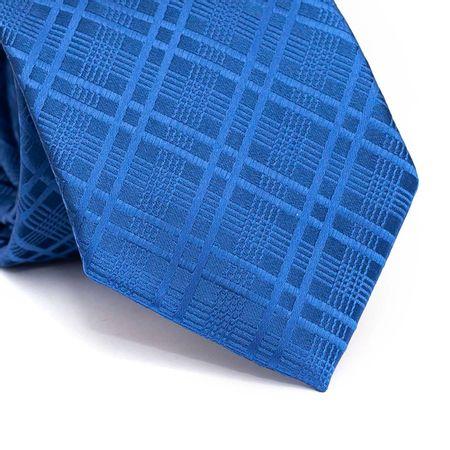 Gravata-tradicional-em-poliester-azul-royal-com-listras-em-azul