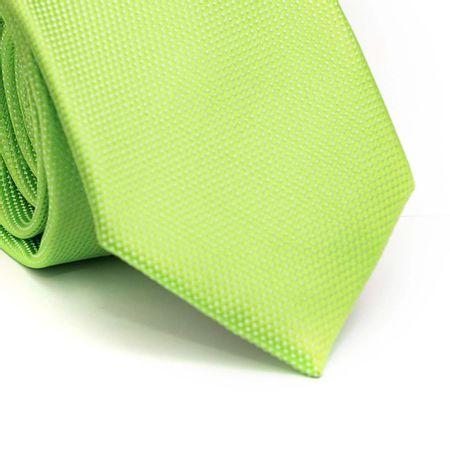 Gravata-tradicional-em-poliester-verde-limao-com-detalhe-branco-trama