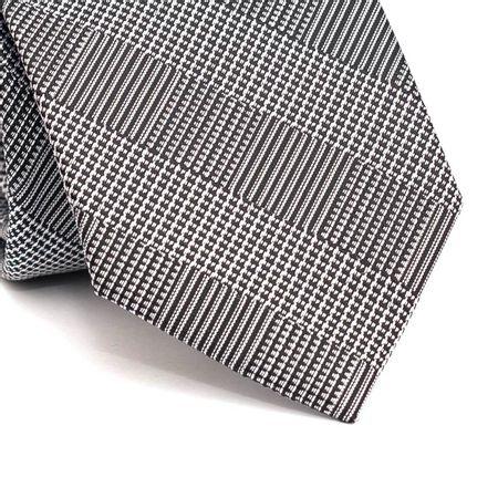 Gravata-tradicional-em-poliester-xadrez-preto-e-cinza-claro