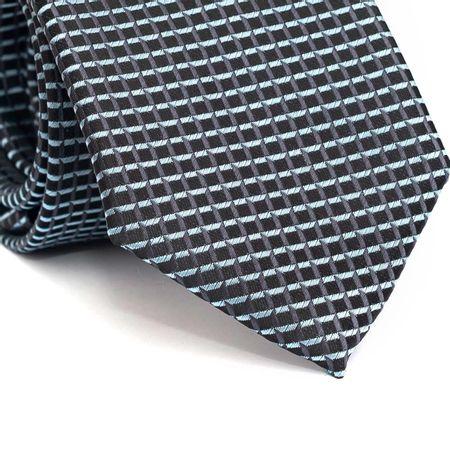 Gravata-tradicional-em-poliester-preta-com-quadriculado-em-cinza-e-azul