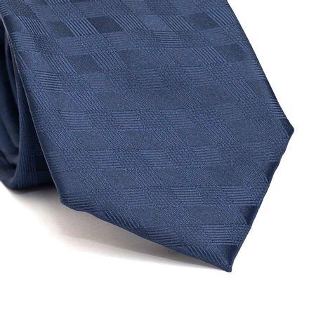 Gravata-tradicional-em-poliester-azul-marinho-com-detalhe-na-trama