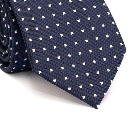 Gravata-tradicional-em-poliester-azul-marinho-com-quadriculado-branco