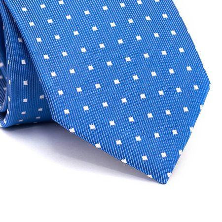 Gravata-tradicional-em-poliester-azul-royal-com-quadriculado-branco