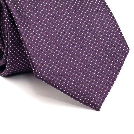 Gravata-tradicional-em-poliester-roxa-com-quadriculado-e-detalhes-em-branco