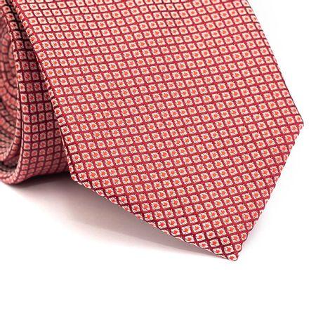 Gravata-tradicional-em-poliester-fundo-vinho-com-quadriculado-branco-com-pontos-vermelho