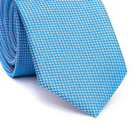 Gravata-slim-em-poliester-azul-claro-com-detalhes-em-branco