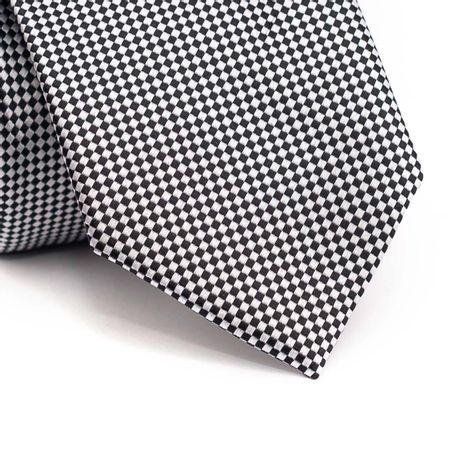 Gravata-tradicional-em-poliester-preta-com-quadriculado-cinza