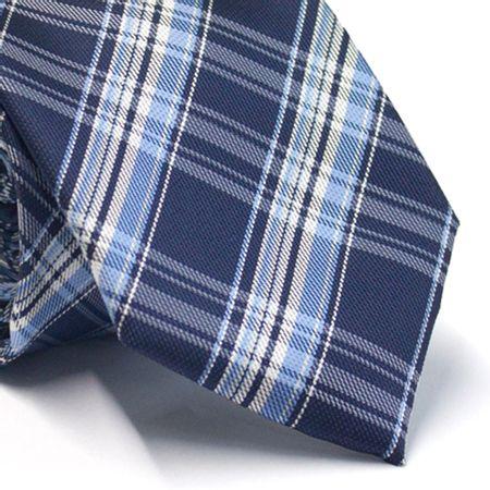 Gravata-tradicional-xadrez-tons-de-azul-e-branco