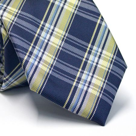 Gravata-tradicional-xadrez-azul-amarelo-e-branco