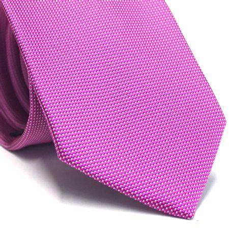 Gravata-tradicional-em-poliester-rosa-com-detalhes-em-branco