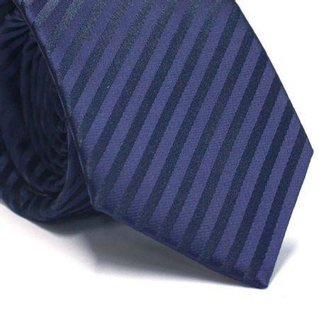 Gravata-tradicional-em-poliester-listrada-azul-marinho