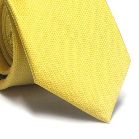 Gravata-tradicional-em-poliester-amarela-com-detalhes-na-trama