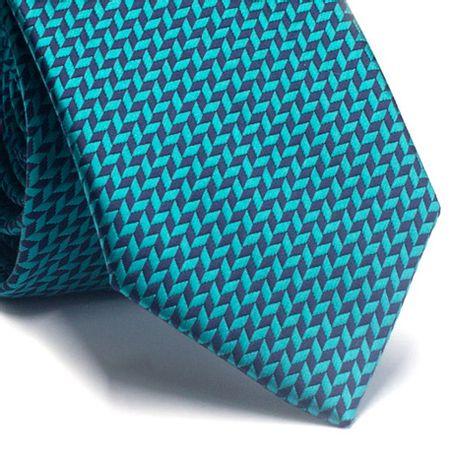 Gravata-tradicional-em-poliester-verde-agua-com-detalhes-em-azul-marinho