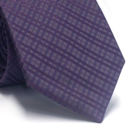 Gravata-tradicional-xadrez-roxo-com-azul-marinho