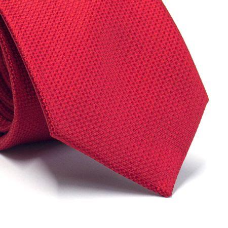 Gravata-tradicional-em-poliester-vermelho-com-detalhes-na-trama