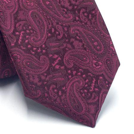 Gravata-tradicional-em-poliester-vermelho-com-cashmere