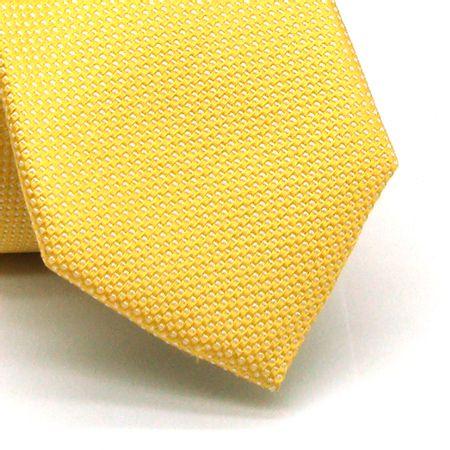 Gravata-slim-em-seda-amarelo-com-detalhes-em-branco