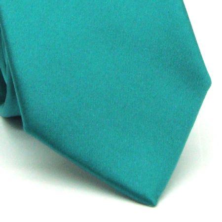 Gravata-tradicional-em-poliester-lisa-verde-esmeralda