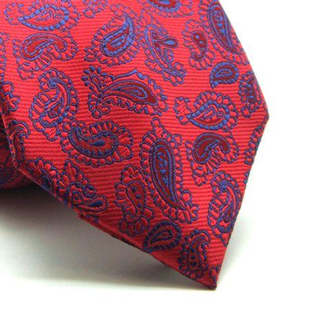 Gravata-tradicional-poliester-vermelha-com-marinho-e-desenhos-Camelo