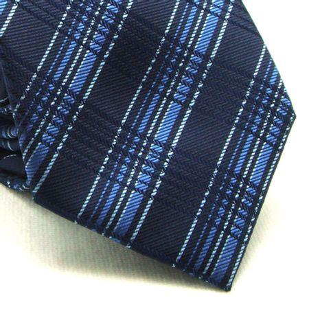 Gravata-tradicional-poliester-marinho-com-listras-Camelo